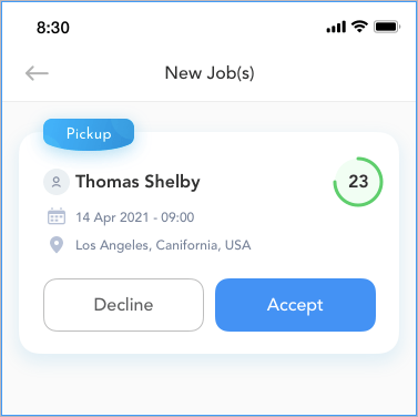 New Order Notifications