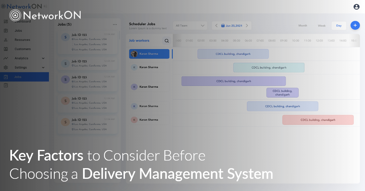 Key Factors to Consider Before Choosing a Delivery Management System