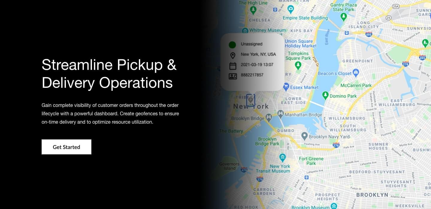 Alcohol Delivery Management Software - Get a bird's eye view of customers, order status, and your delivery fleet.